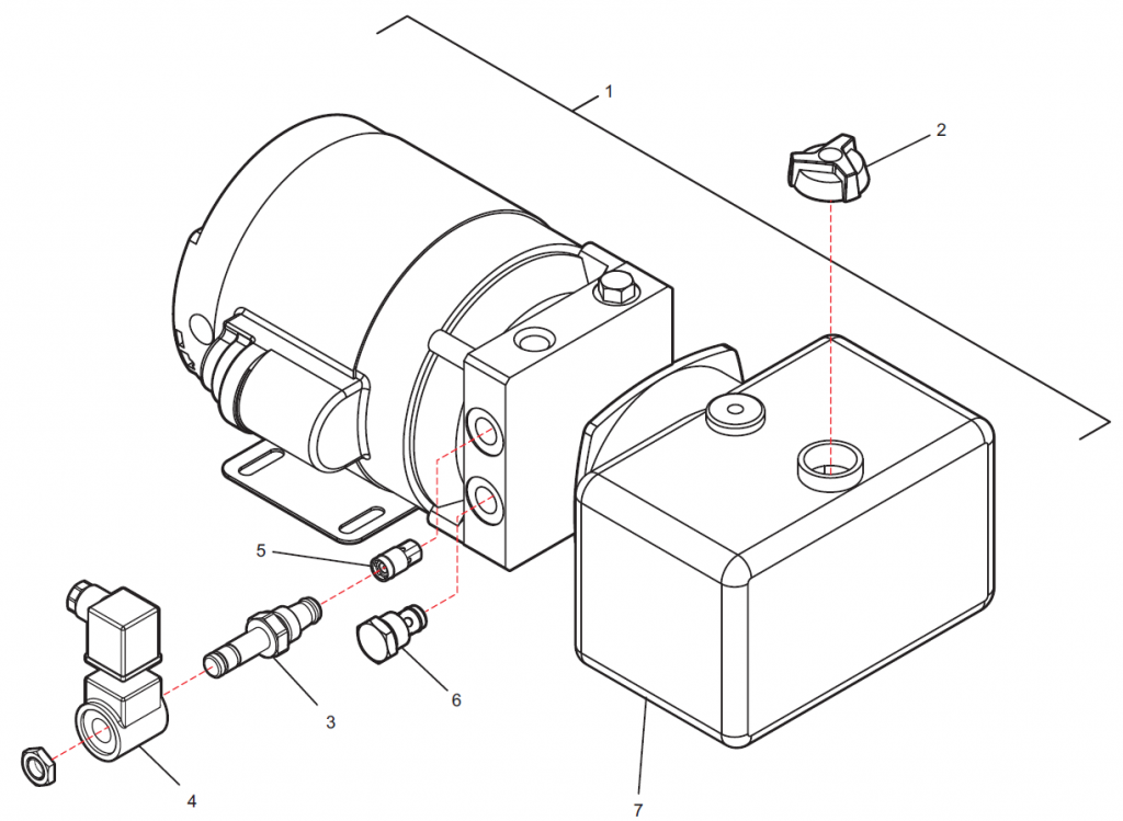 AC Unit Assembly Layout