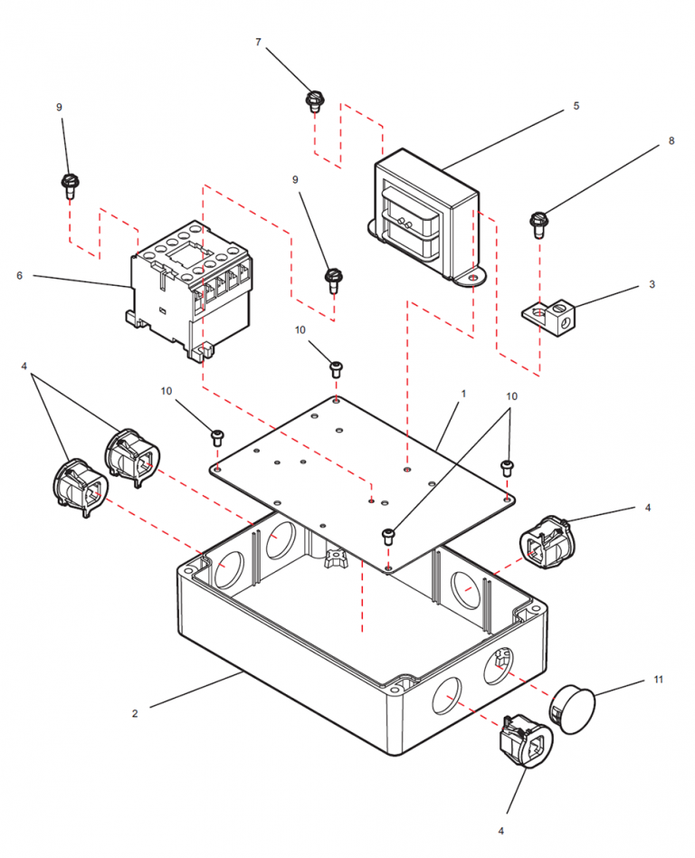 Junction Box Assembly Layout
